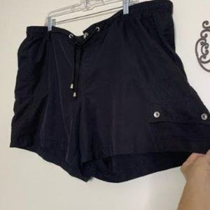 Just My Size Relaxed Drawstring Shorts Sz 2X